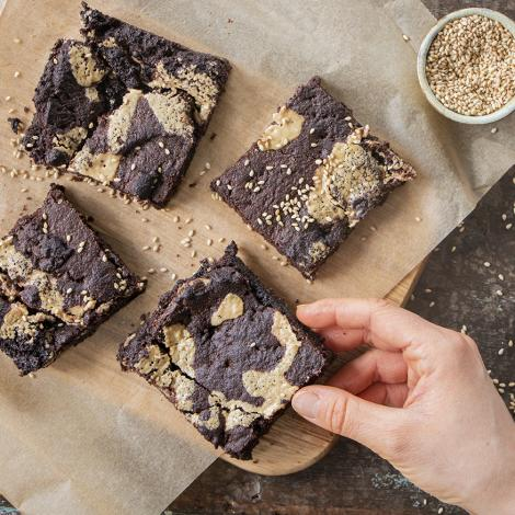 Tahini Brownie